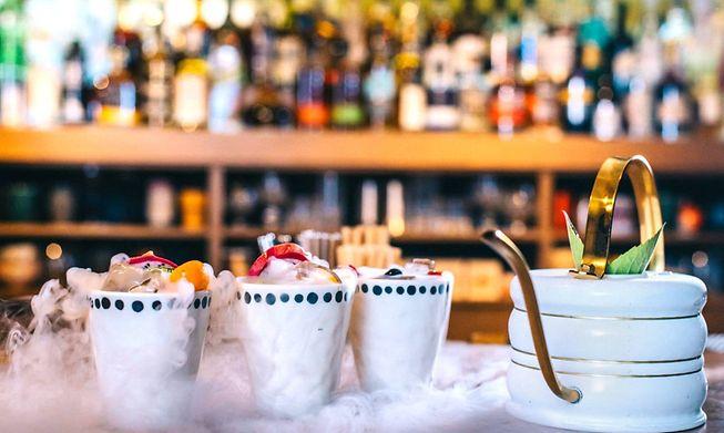 Tailors Concept speakeasy bar has an extensive cocktail menu