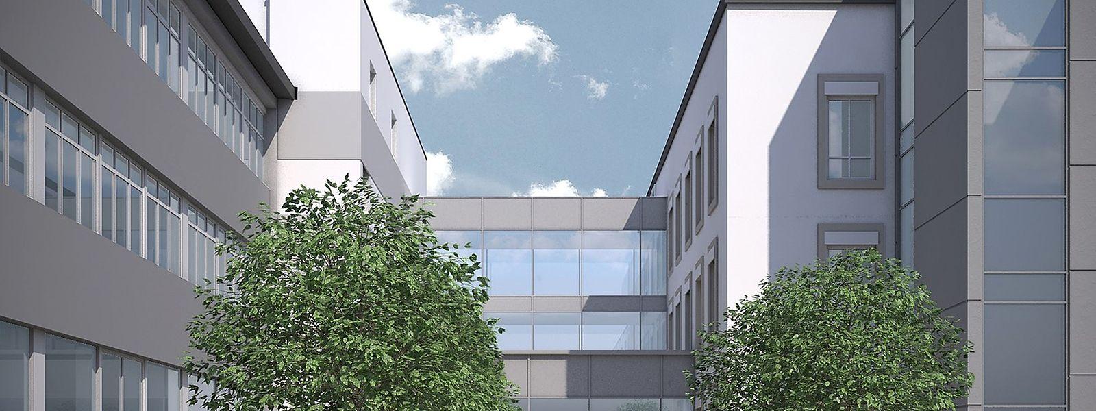 Voraussichtlich im April 2019 soll das neue Gebäude bezugsfertig sein.