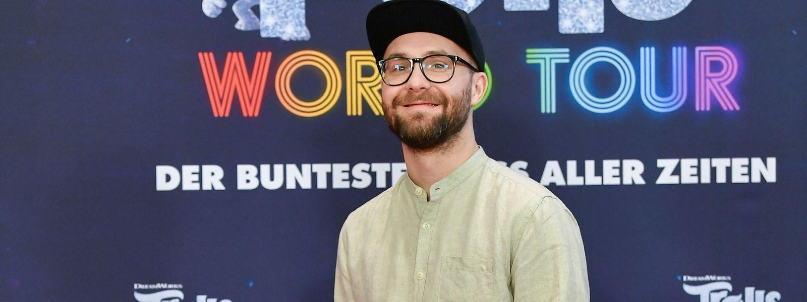 """Musiker Mark Forster leiht im Filmmusical """"Trolls World Tour"""" bereits zum zweiten Mal dem Troll """"Branch"""" seine Stimme."""