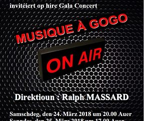 Fanfare Niederkorn - Gala Concert - Musique à Gogo - ON AIR