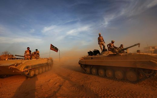 Iraqi Forces Securing Ancient Nimrud After Forcing Out IS Extremists