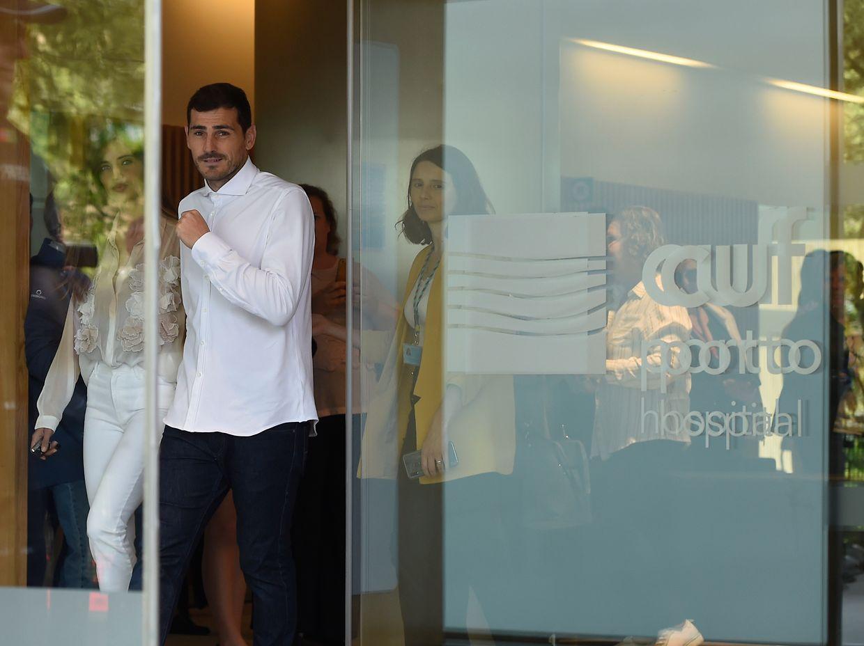 Casillas teve hoje alta hospitalar do Hospital Cuf Descobertas, no Porto.