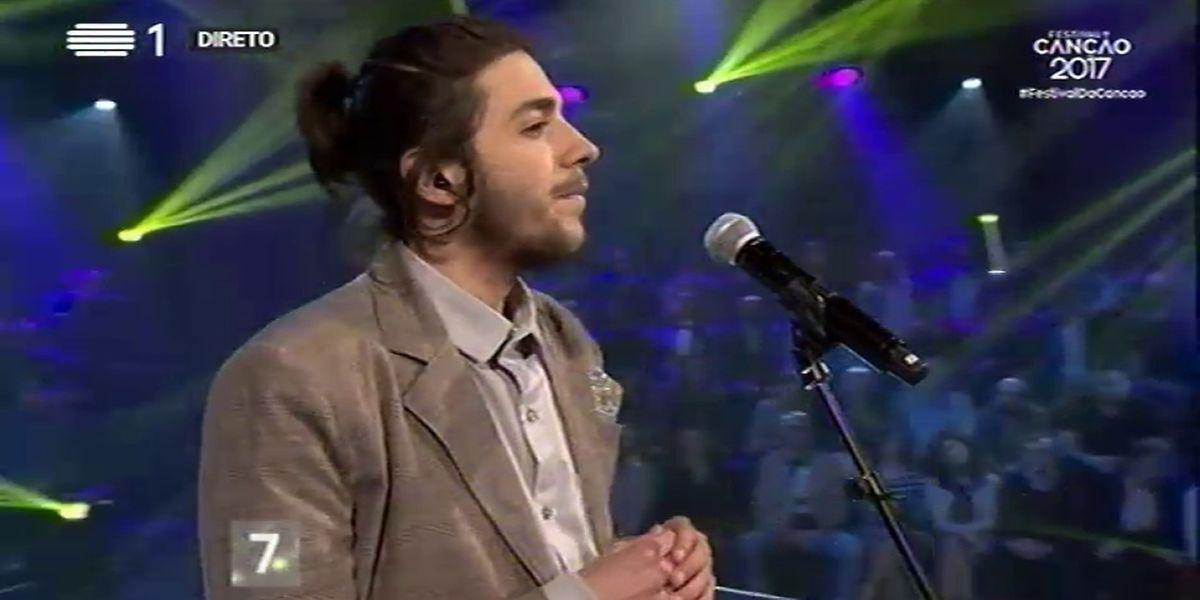 Salvador Sobral venceu Festival da Canção