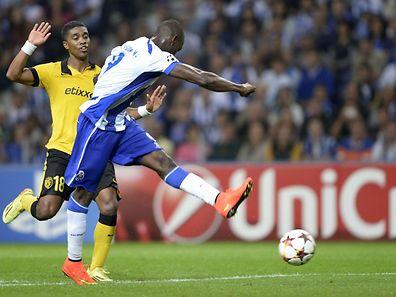 Jackson Martínez apontou o segundo golo dos azuis e brancos