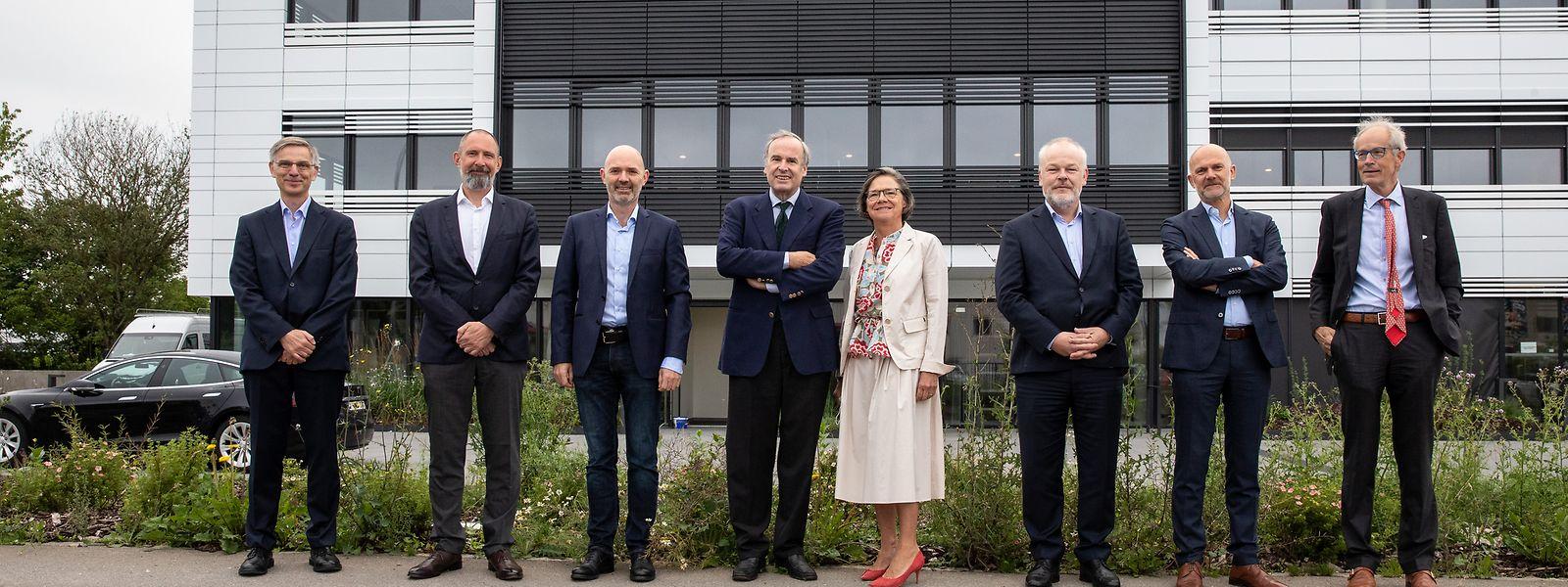 Der Verwaltungsrat von Mediahuis Luxembourg tagte erstmals am neuen Firmensitz in Howald.