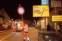 Echternach , Entfernen der Strassensperre auf der Brücke nach Echternacherbrück ( Deutschland ) , Wegfallen der Grenzkontrollen , Coronakrise , Sars-Cov-2 , Covid-19 , Foto:Guy Jallay/Luxemburger Wort