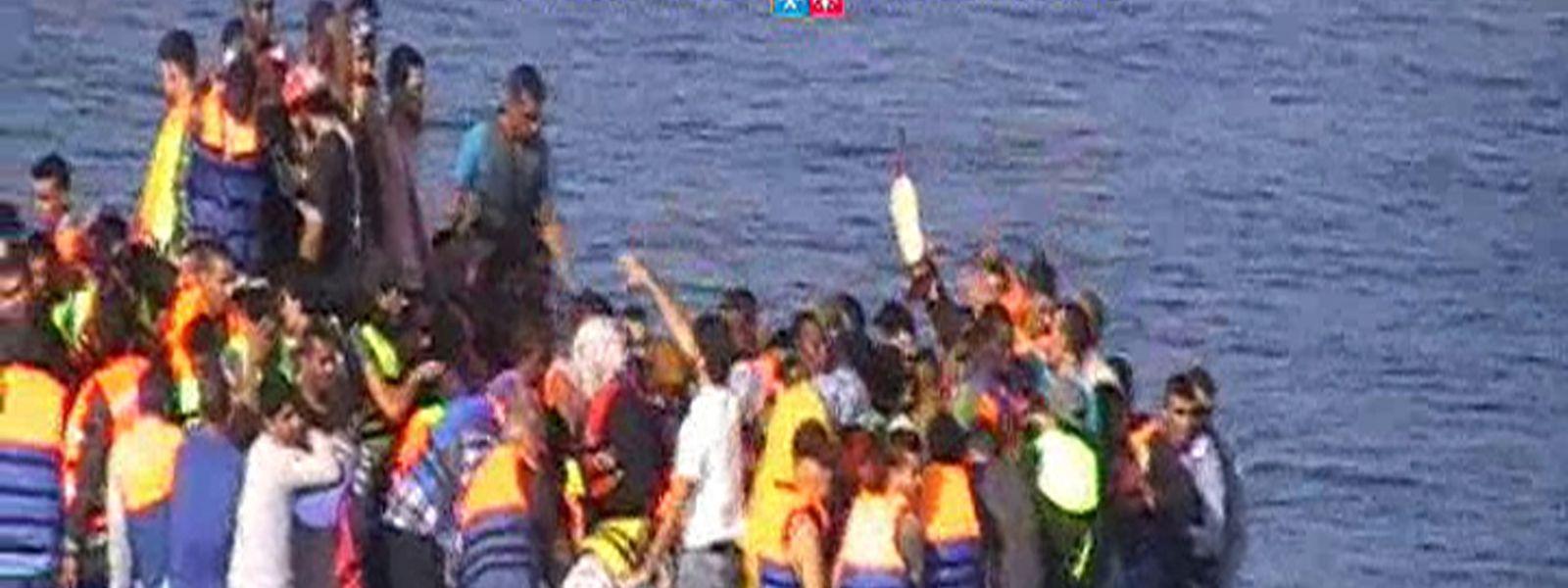 Seit Jahresbeginn kamen nach Angaben der Internationalen Organisation für Migration rund 2300 Flüchtlinge im Mittelmeer ums Leben.