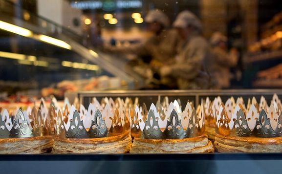 Enjoy a Galette des Rois, Crown or Kings' Cake on January 6