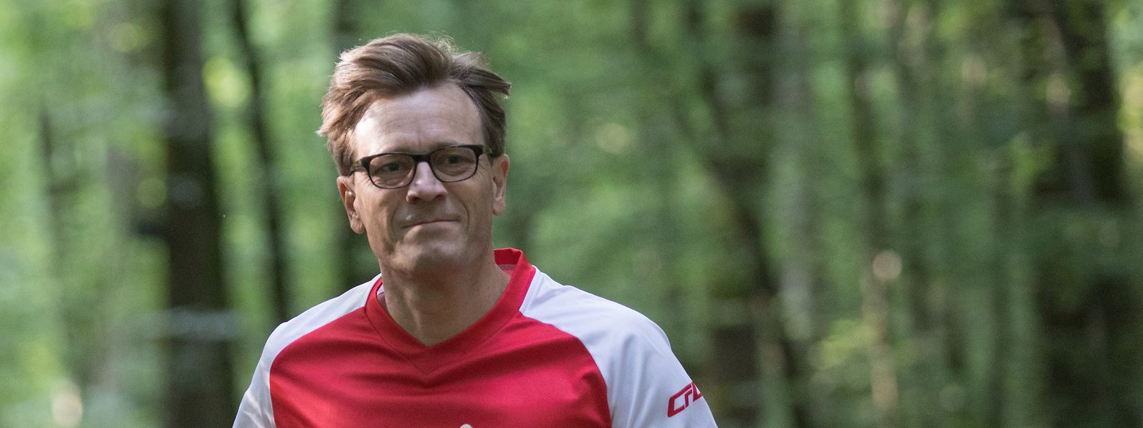 Marc Wengler geht ein bis zwei Mal pro Woche laufen.