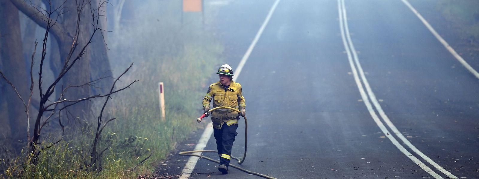 Les températures pourraient encore augmenter au cours des prochains jours en raison de la propagation d'une vague de chaleur qui risque d'attiser les feux de forêts qui ravagent le pays.