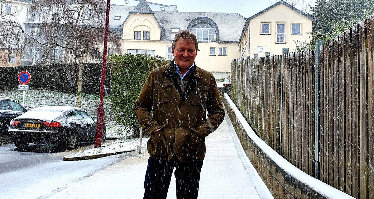 Frank Ardnt, burgomestre da comuna de Wiltz