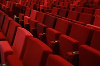 Die Sitzplätze in den Theaterhäusern, Konzertsälen und Kinos blicken ins Leere.