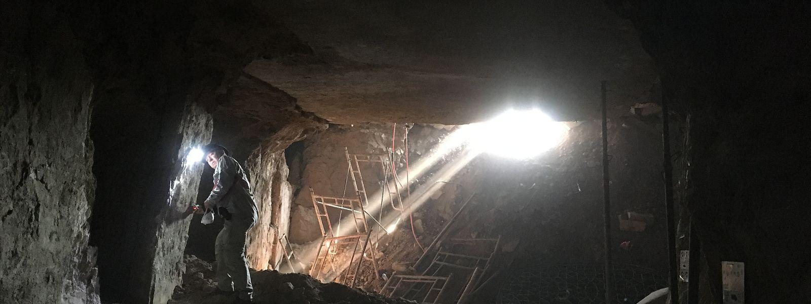 Die Arbeit des digitalen Archäologen Juan Aguilar findet derweil meist unter Tage im Tunnelnetzwerk, das die IS-Kämpfer gruben, statt.