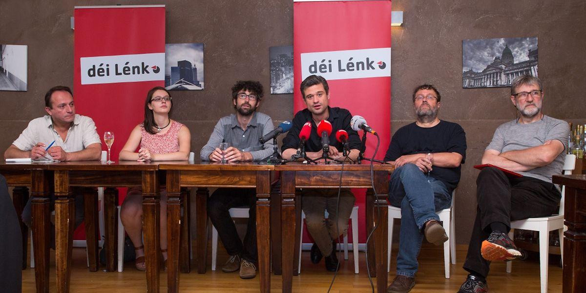 Déi Lénk sieht sich als die einzig wahre Oppositionspartei.