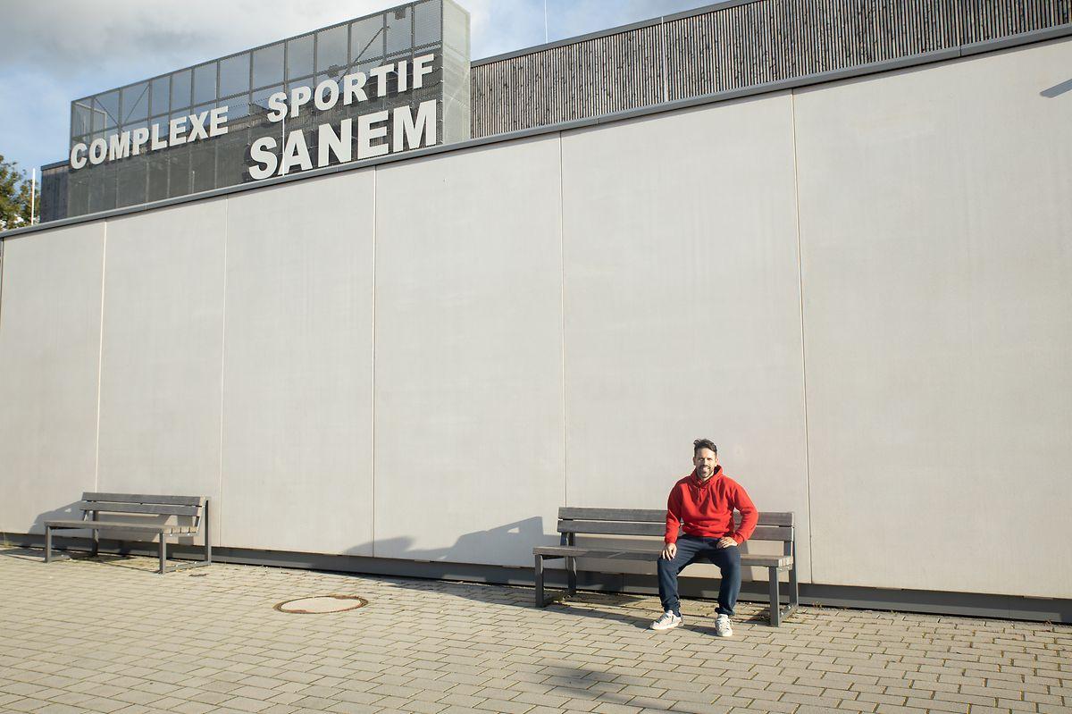 Pedro treina no Complexo Desportivo de Sanem
