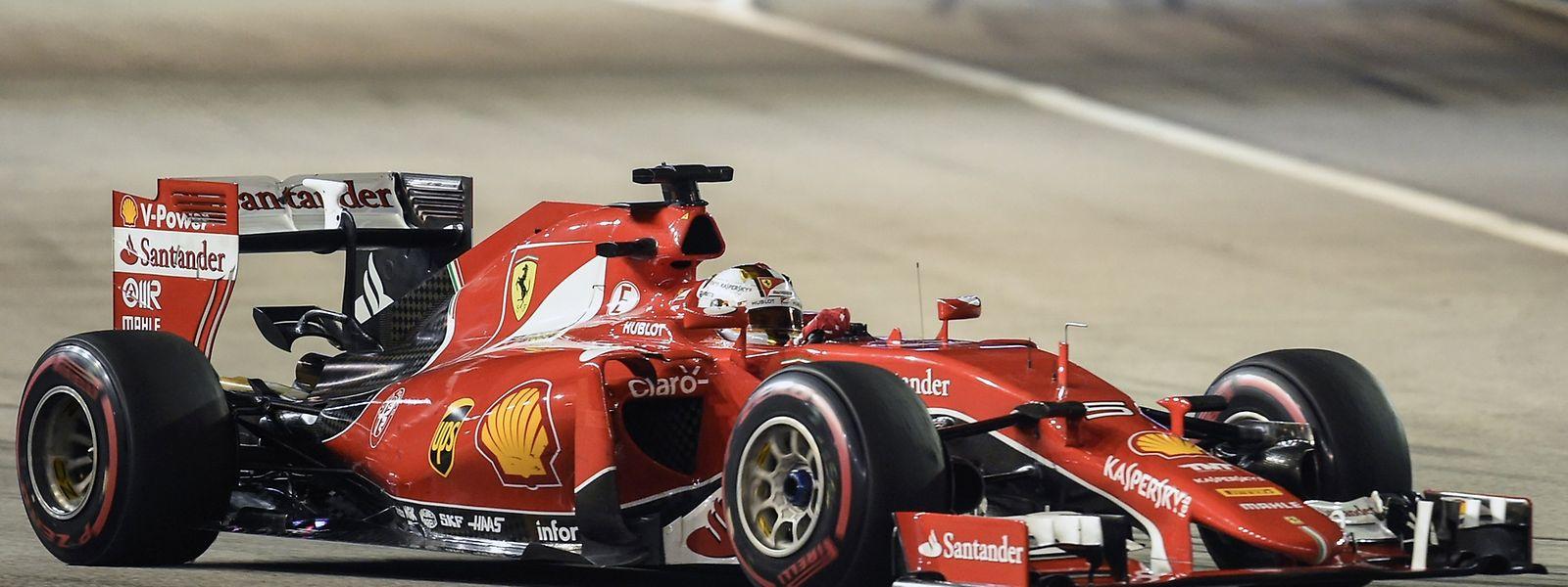 Sebastian Vettel venceu facilmente em Singapura