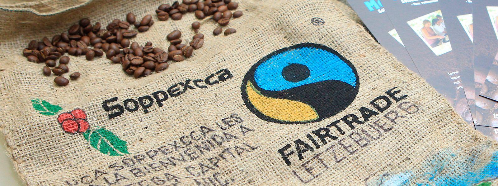 Le café, troisième denrée sur le podium des produits consommés issus du commerce équitable au Grand-Duché.