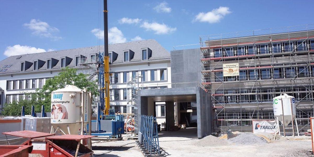 Erst Ende 2017 wird die Renovierung des LHCE abgeschlossen sein.