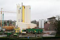 Luxemburg-Cents - die Asphaltfabrik der Firma Karp-Kneip - Foto: Serge Waldbillig