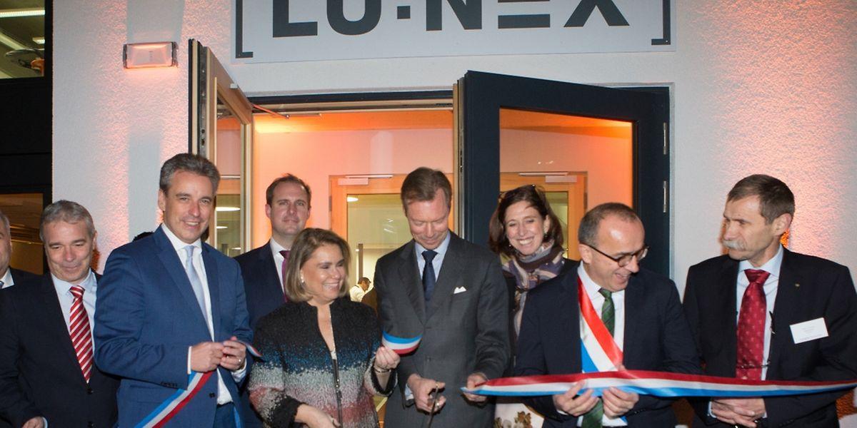 Am Freitag wurde die Lunex im Beisein des großherzoglichen Paares eingeweiht.