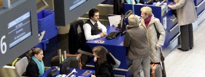 O Luxemburgo registou um aumento de passageiros que viajam de avião