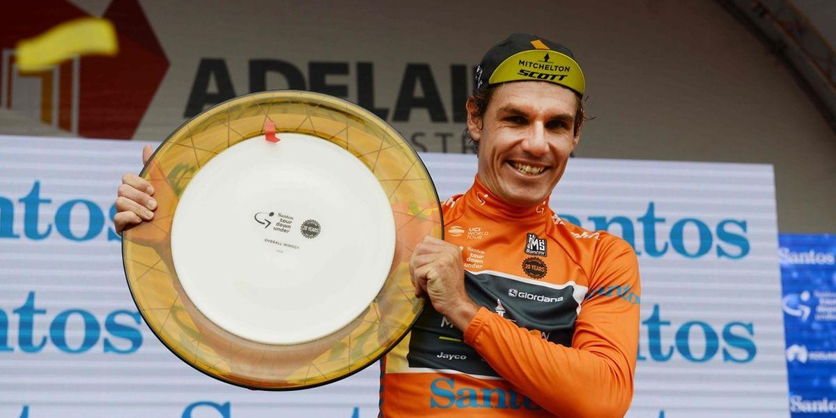 Daryl Impey a signé sa plus belle victoire de sa carrière en décrochant le classement final du Tour Down Under.