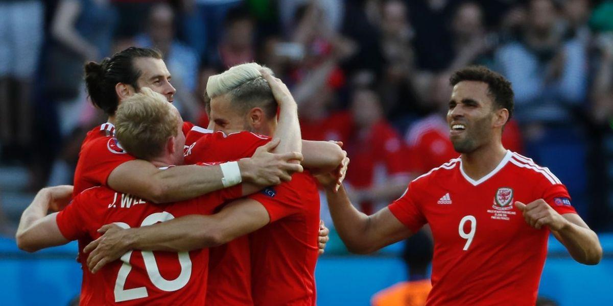 Wales folgt Polen ins EM-Viertelfinale