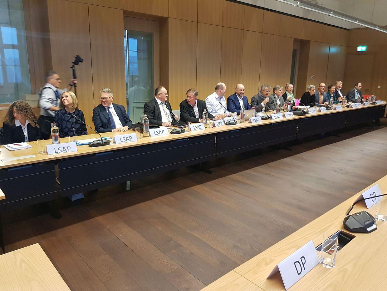 Die Sitzungen finden im Außenministerium statt.