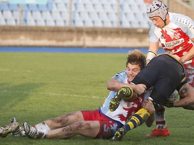 Rugby - Luxembourg vs Sweden / Foto: Steve EASTWOOD
