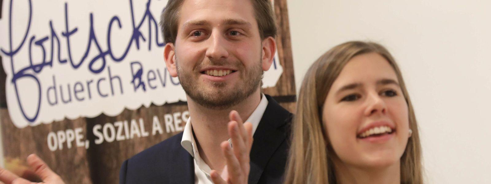Alex Donnersbach übernimmt den CSJ-Vorsitz von Elisabeth Margue, die nicht mehr angetreten war.