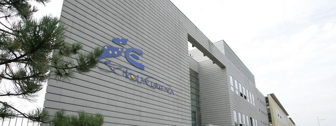 Die Europaschule in Kirchberg war 1953 die erste in Europa.