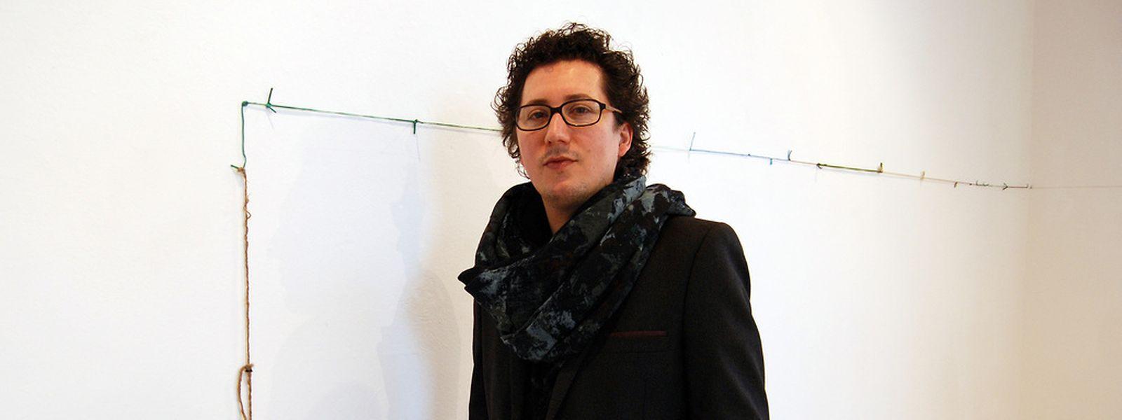 O artista plástico português vai estar esta quarta-feira no Cercle Cité, em plena Place d'Armes, para falar do seu percurso artístico