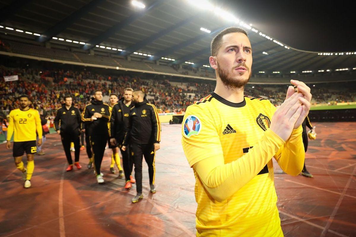 Le prodige belge Eden Hazard va fêter sa centième sélection. Avec un feu d'artifice à Nicosie?