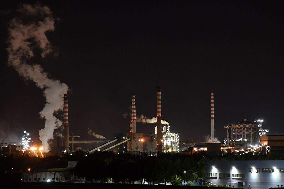 Das Stahlwerk Ilva gilt als eines der größten Werke in Europa.