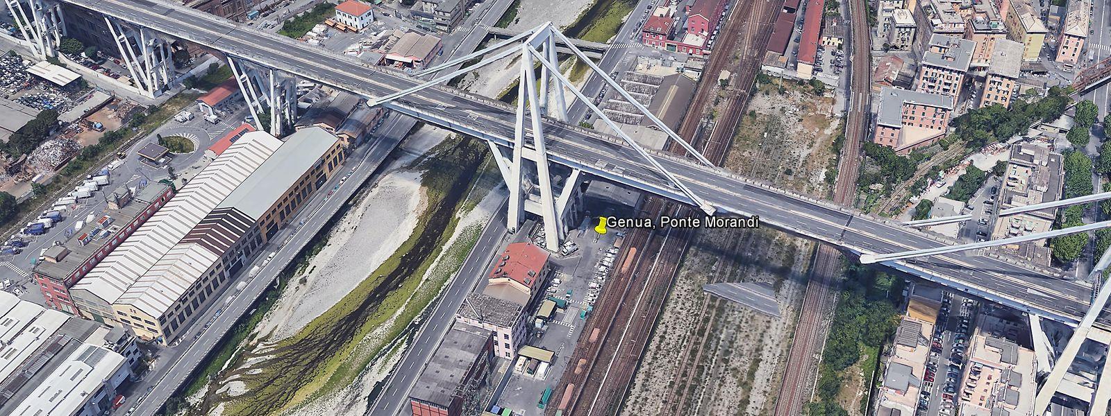 Le pont Morandi a été construit à la fin des années 1960.