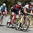 Die Ausreissergruppe mit Laurent Pichon (F/Arkéa), Alex Kirsch (L/Trek) und Mauro Finetto (I/Delko) - Paris-Nice 2019 - 6. Etappe Peynier/Brignoles 176,5km - Foto: Serge Waldbillig