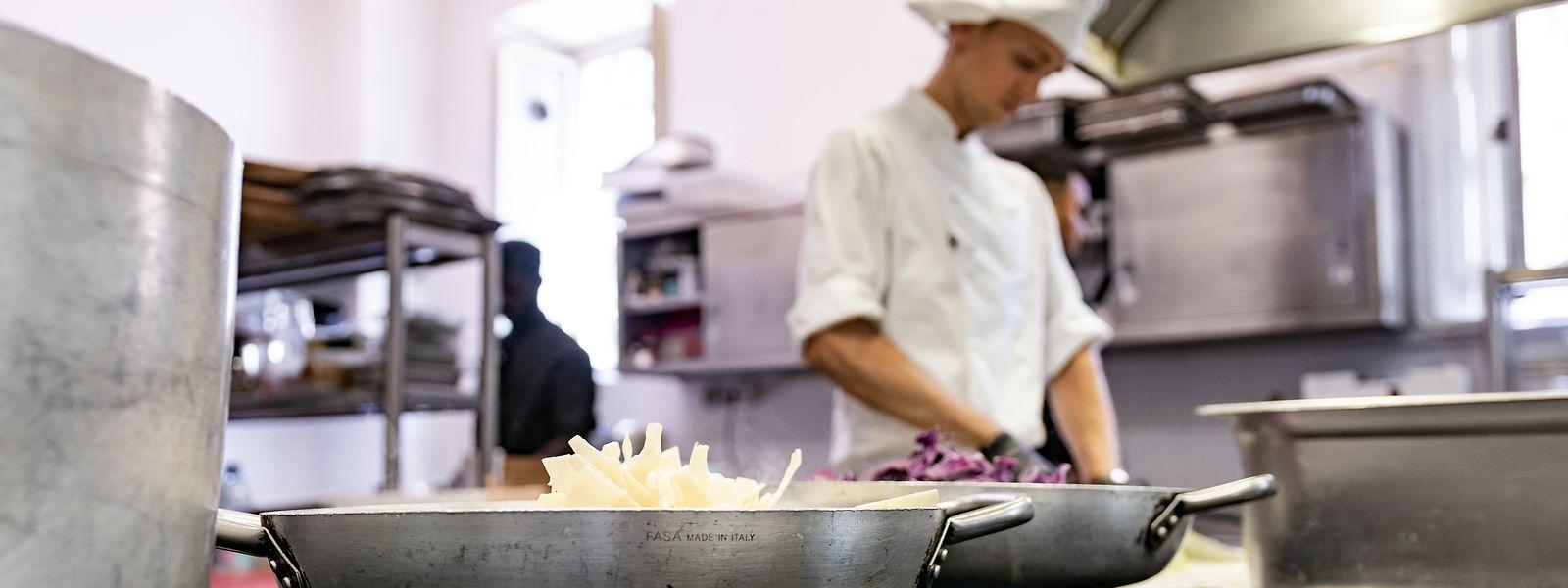 Die meisten Flüchtlinge, die sich in Luxemburg selbstständig machen wollen, wollen einen eigenen Foodtruck oder ein kleines Restaurant eröffnen.