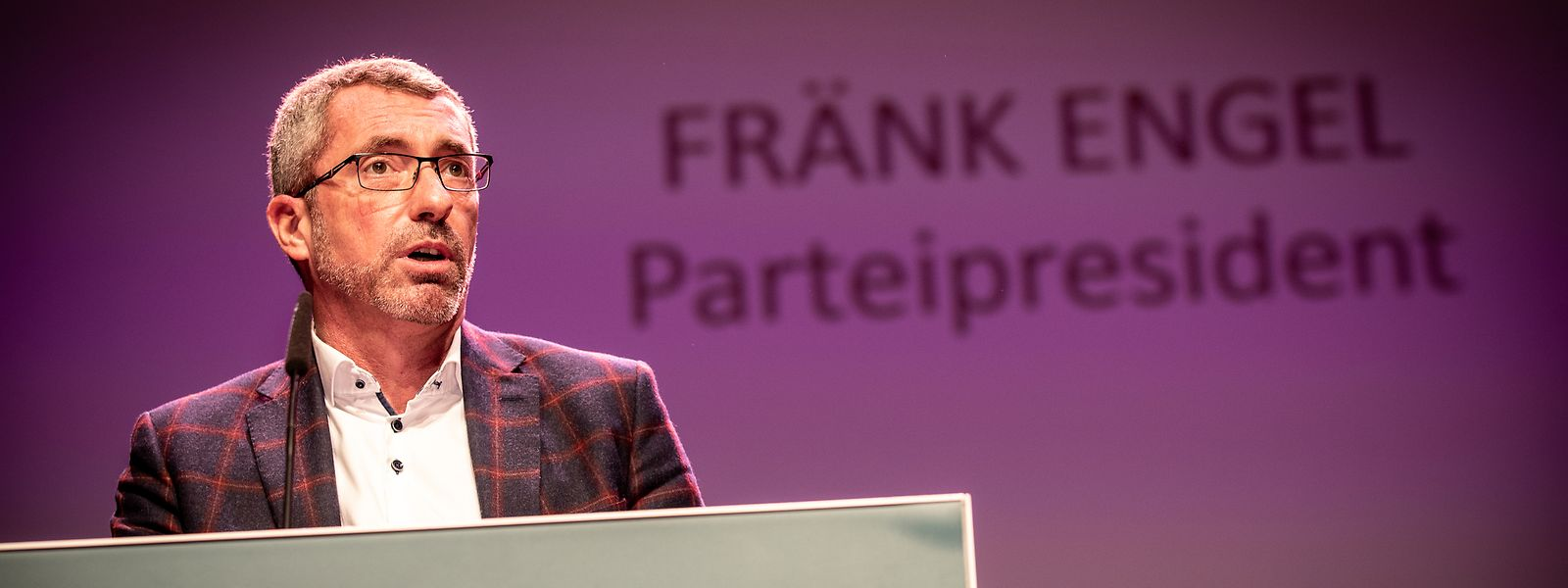Seit 26. Januar 2019  an der Spitze der CSV und im Dauerclinch mit der Fraktion: Frank Engel.