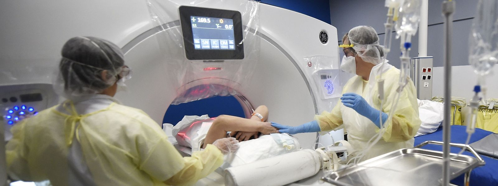 Dans les quatre centres hospitaliers luxembourgeois une procédure avait été mise en place pour soutenir à la fois familles et soignants.
