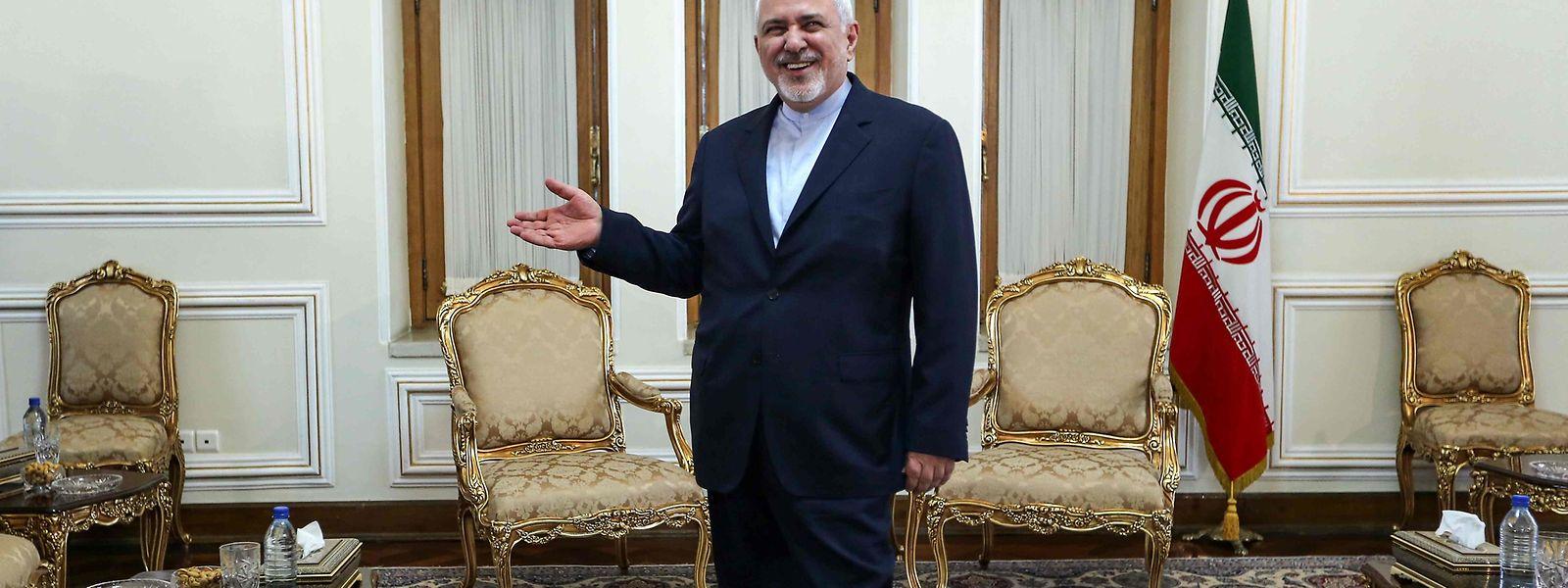 Der iranische Außenminister Dschawad Sarif.