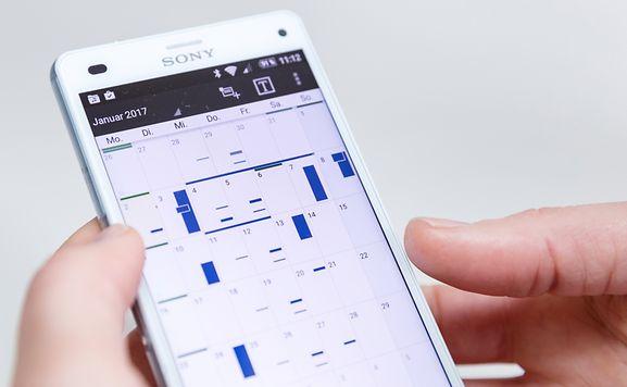 Mit Kalender-Apps hat man