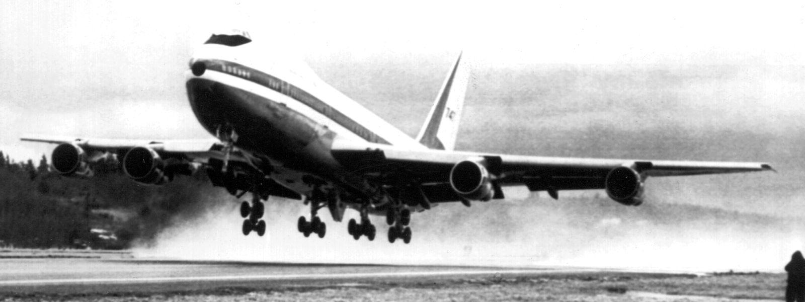 Die 747 erhob sich 1969 zum ersten Mal in den Himmel.