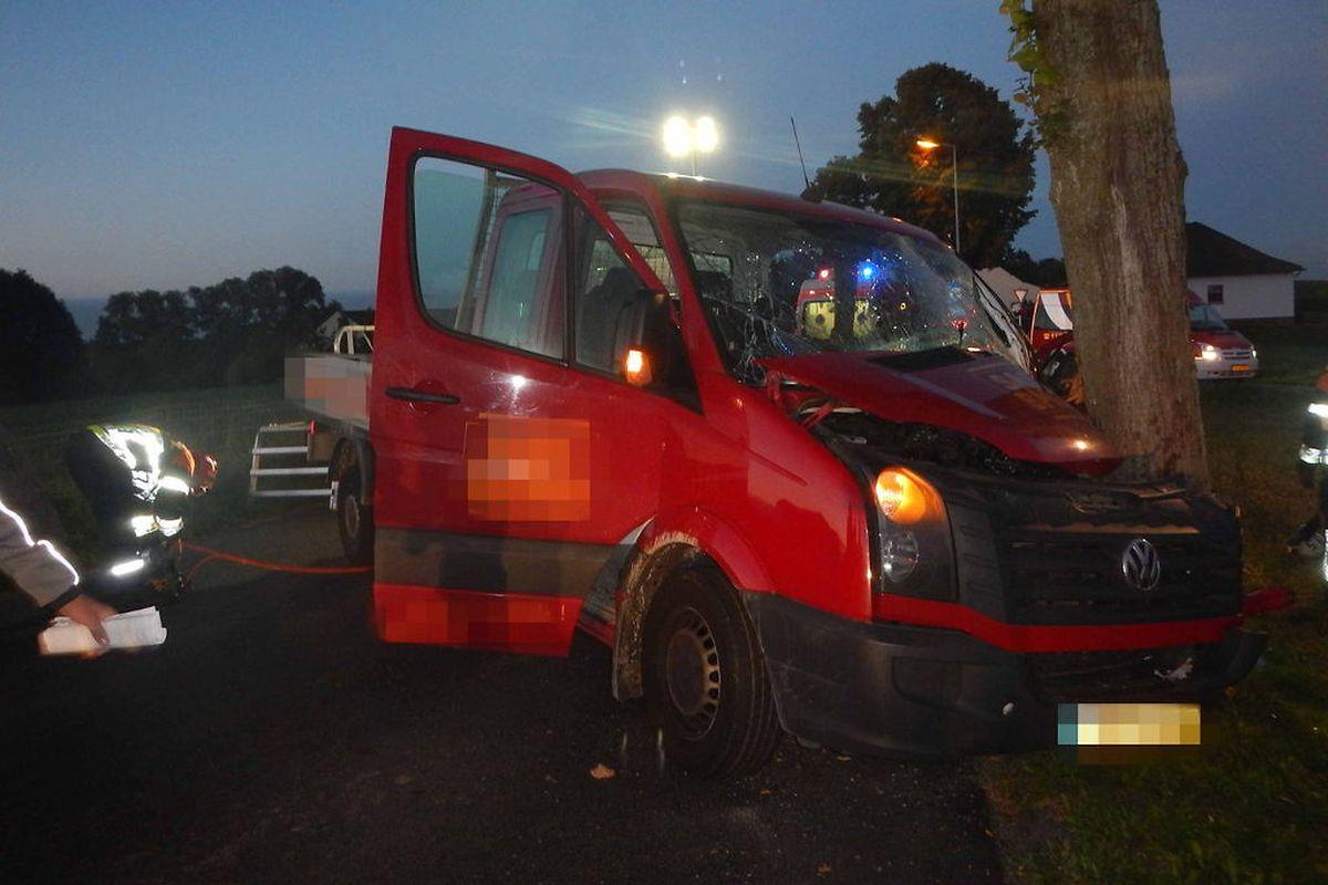 Einer der beiden Unfalle ereignete sich gegen 5 Uhr am Mittwoch nördlich von Clerf.
