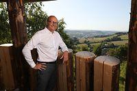 Politik, Sommerinterview Claude Turmes, Kalleksuewen Aussichtsplattform Ettelbrück, Foto: Guy Wolff/Luxemburger Wort