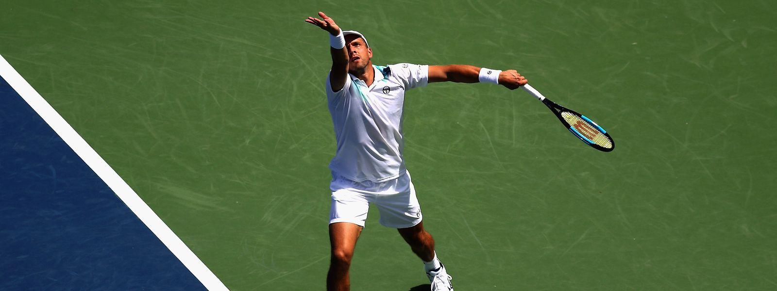 Gilles Muller wird als nächstes kommende Woche bei den US Open aufschlagen.