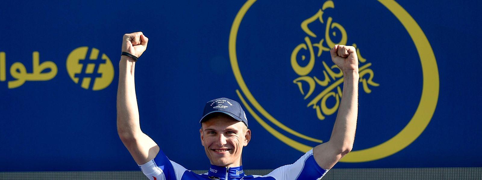 Marcel Kittel fuhr bereits seinen dritten Etappensieg ein und liegt auch in der Gesamtwertung vorne.