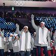 Diese Woche entscheidet sich, ob die Russen wieder unter eigener Fahne an der Schlussfeier teilnehmen dürfen. Durch den Dopingfall steht ein Fragezeichen hinter dieser Entscheidung.
