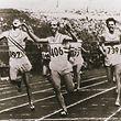 """Das Foto des Olympiasieges von Josy Barthel in Helsinki erschien auf der Titelseite des """"Luxemburger Wort"""" vom 28. Juli 1952 - allerdings über Umwege ..."""