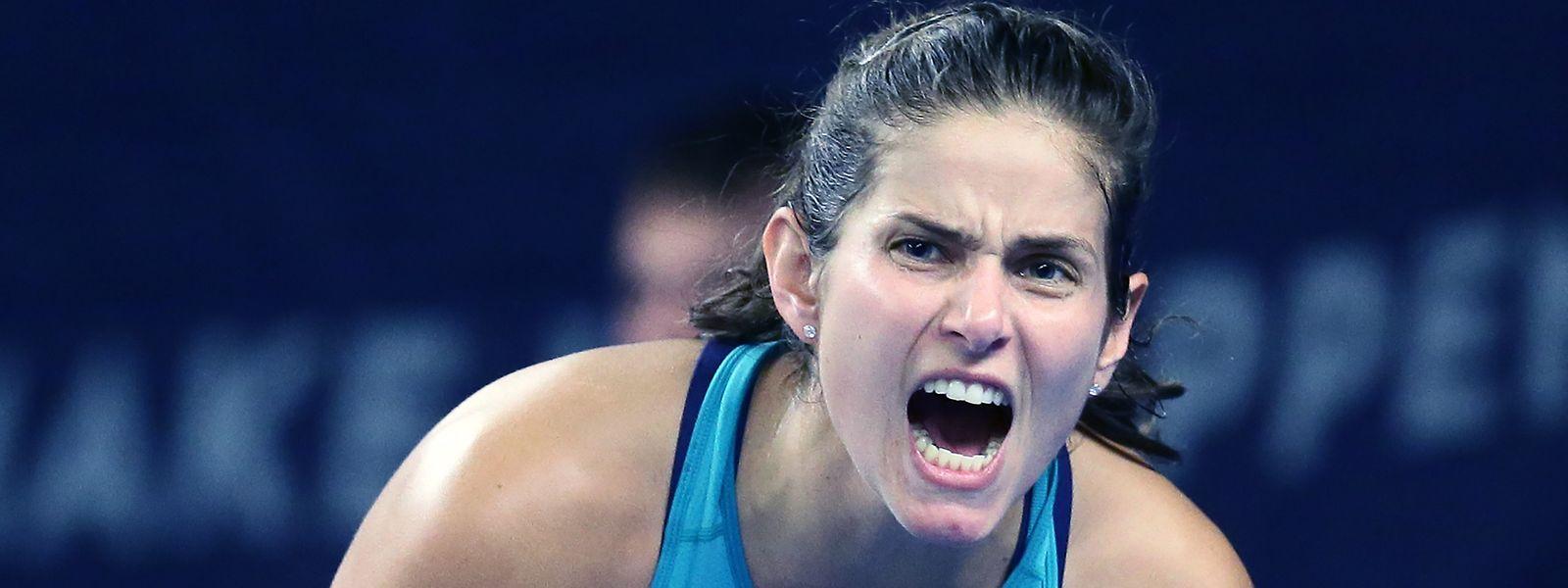 Julia Görges steht in Kockelscheuer zum dritten Mal im Endspiel.