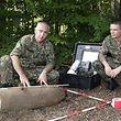 Vor Ort analysiert das Sedal, um welche Munition es sich handelt und wie man diese entschärfen oder sprengen kann.